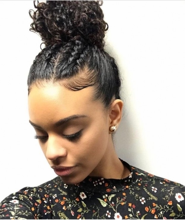 Women Hairstyles : Cute Updo Hairstyles For Short Curly Hair Inside Most Current Quick Updo Hairstyles For Curly Hair (View 15 of 15)