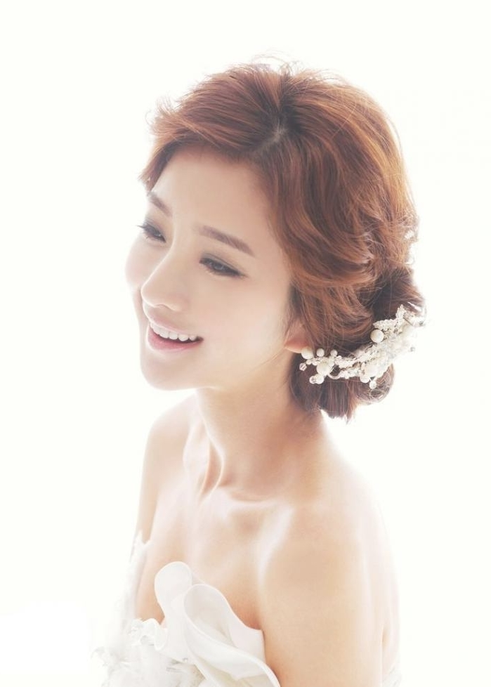1 Best Korean Girls Hairstyle Ideas For Wedding (View 5 of 15)