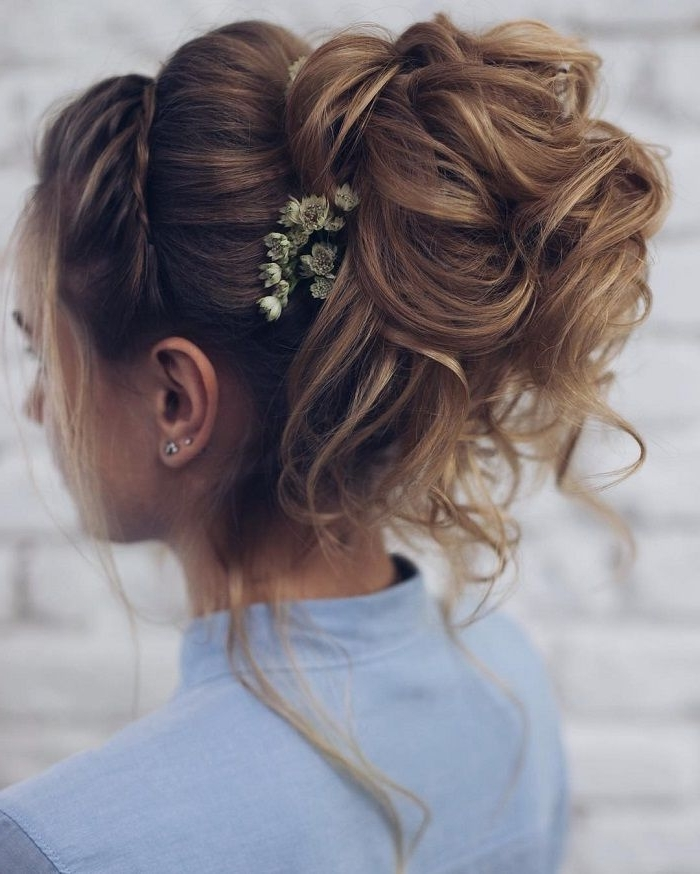 10 Best Hair Styles Images On Pinterest | Wedding Hair Styles Throughout Messy Bun Wedding Hairstyles (View 15 of 15)