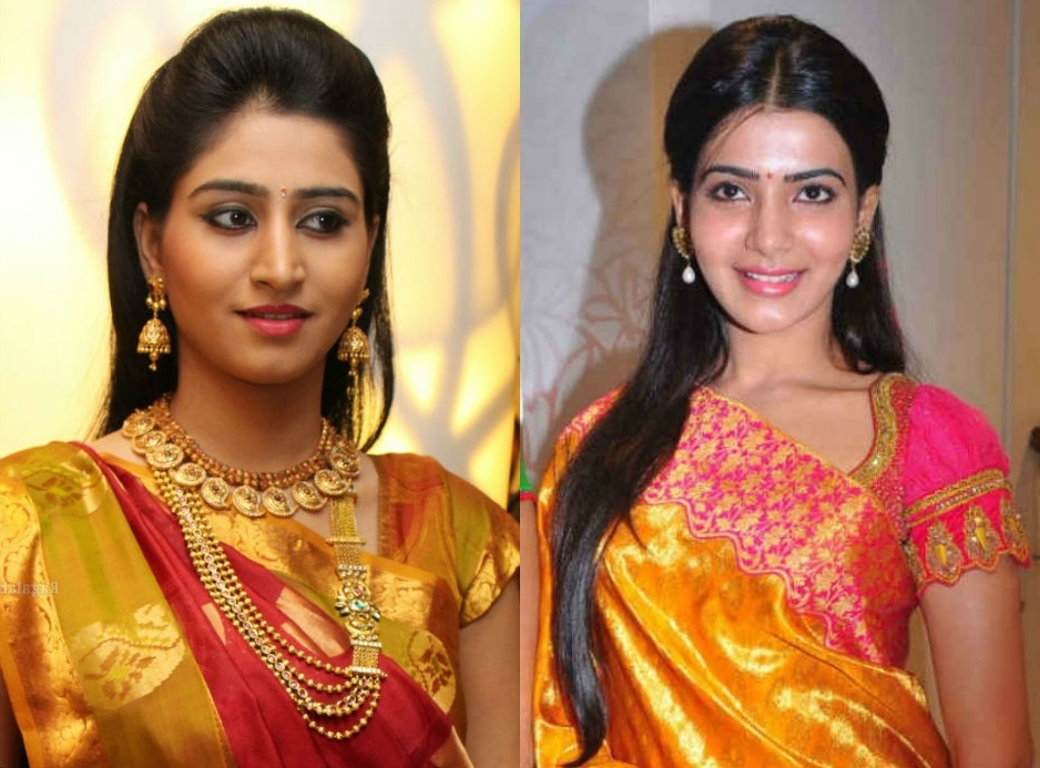 10 Best Hairstyles For Traditional Sarees – Indian Beauty Tips In Wedding Hairstyles For Sarees (View 1 of 15)