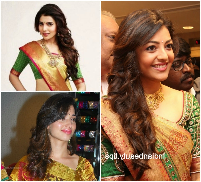 10 Best Hairstyles For Traditional Sarees – Indian Beauty Tips With Wedding Hairstyles For Sarees (View 2 of 15)