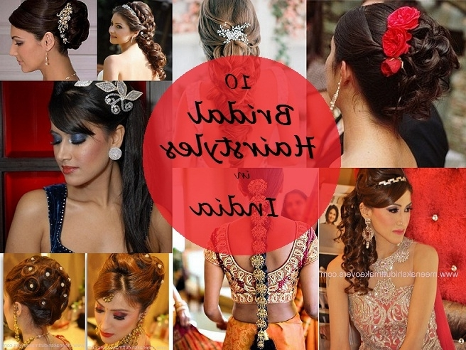 10 Best Indian Bridal Hairstyles For Long Hair Regarding North Indian Wedding Hairstyles For Long Hair (View 1 of 15)
