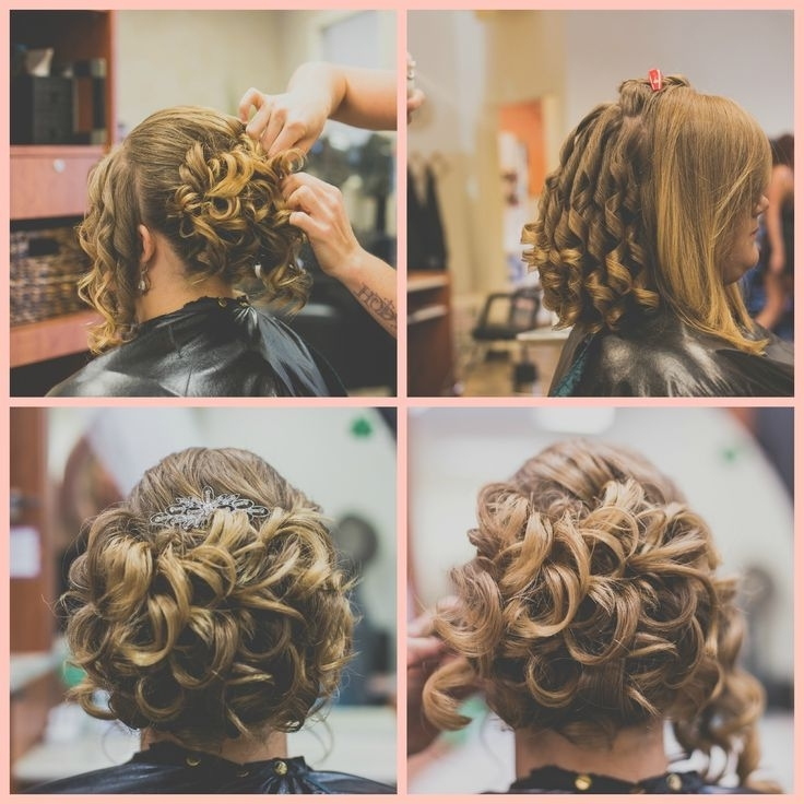 10 Best Wedding Hair And Makeup Images On Pinterest   Wedding Hair Pertaining To Bridal Hairstyles For Short To Medium Length Hair (View 11 of 15)