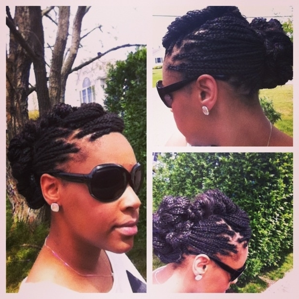 10 Best Wedding Hair Images On Pinterest | Wedding Hair Styles With Wedding Hairstyles With Box Braids (View 9 of 15)