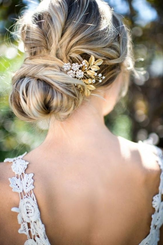 10 Bohemian Wedding Hairstyles / Example Photos With Boho Wedding Hairstyles (View 2 of 15)