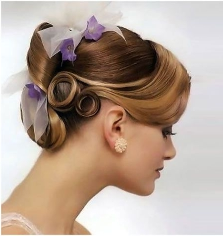 10 Bridal Hairstyles For Medium Length Hair   Medium Length Hairs Intended For Wedding Hairstyles For Chin Length Hair (View 1 of 15)
