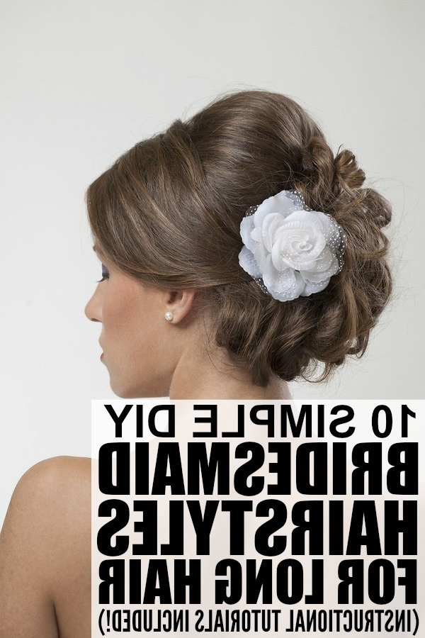 10 Easy Bridesmaid Hairstyles For Long Hair | Bridesmaid Duties With Easy Wedding Hair For Bridesmaids (View 1 of 15)