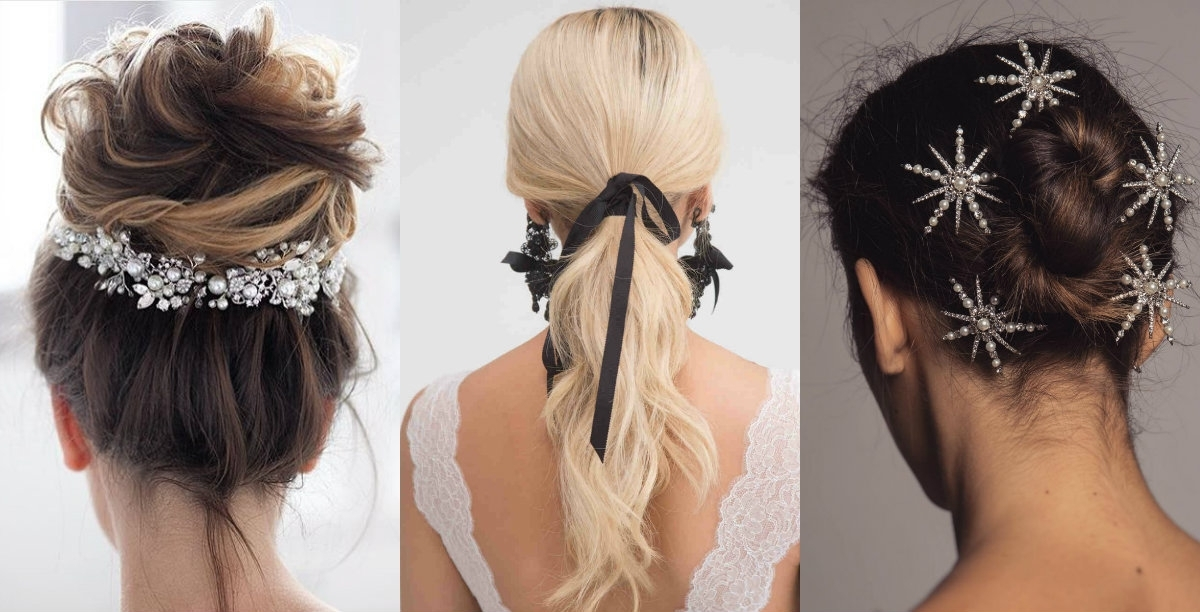 10 Enchanting Wedding Hairstyles 2018 | Hairdrome Within Spring Wedding Hairstyles For Bridesmaids (View 13 of 15)