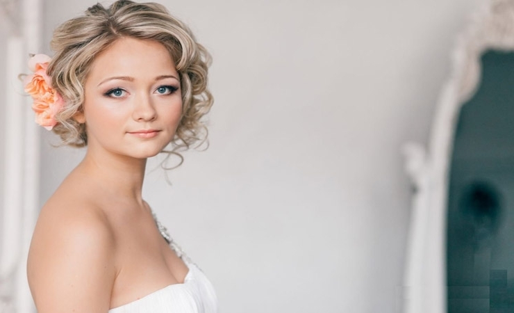 10 Glamorous Hairstyles For The Beautiful Bride – Gawin With Regard To Wedding Bob Hairstyles For Short Hair (View 6 of 15)