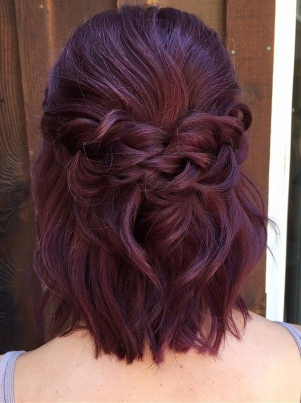 10 Glamorous Half Up Half Down Wedding Hairstyles From Hair And For Wedding Hairstyles For Short Length Hair Down (View 2 of 15)