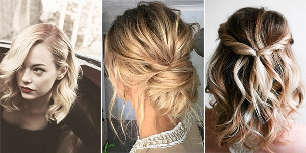 10 Latest Wedding Hairstyles For Medium Length Hair – Emmalovesweddings In Wedding Hairstyles For Medium Long Hair (View 1 of 15)