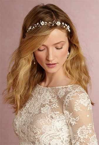 10 Minutes Is What You Need To Accessorize Your Bridal Hair Wearing Pertaining To Wedding Hairstyles With Hair Accessories (View 11 of 15)