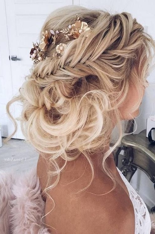 10 Pretty Braided Wedding Hairstyles | Messy Wedding Hairstyles Within Messy Wedding Hairstyles For Long Hair (View 1 of 15)