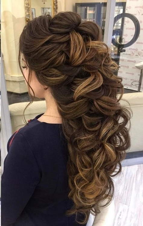 100 Wow Worthy Long Wedding Hairstyles From Elstile   Wedding, Hair Throughout Elstile Wedding Hairstyles For Long Hair (View 1 of 15)