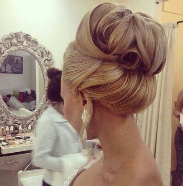 101 Cute & Easy Bun Hairstyles For Long Hair And Medium Hair Regarding Chignon Wedding Hairstyles For Long Hair (View 13 of 15)