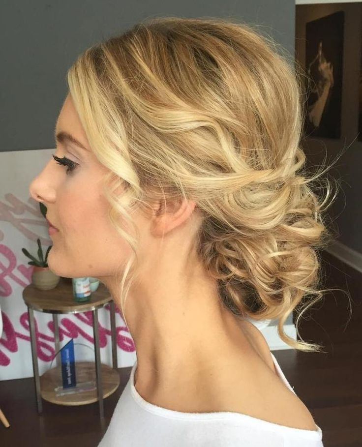 103 Best Hair Images On Pinterest | Bridal Hairstyles, Hairdo Throughout Wedding Hairstyles For Mid Length Fine Hair (View 15 of 15)