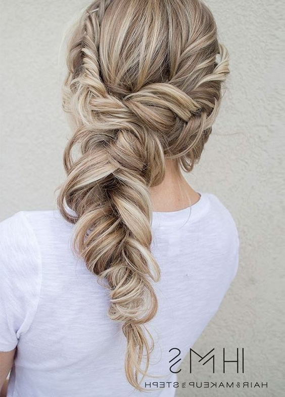 107 Best Wedding Day Hair Images On Pinterest | Wedding Hair Styles For Wedding Braids Hairstyles (View 1 of 15)