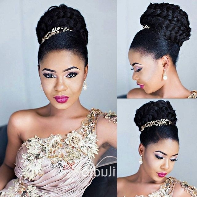 15 Ideas Of Nigerian Wedding Hairstyles For Bridesmaids