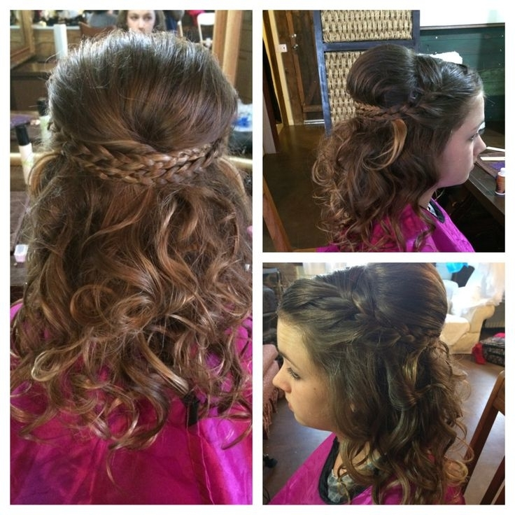 11 Best Becky's Wedding Images On Pinterest | Wedding Hair Styles With Regard To Cute Wedding Hairstyles For Junior Bridesmaids (View 15 of 15)