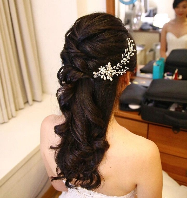 11 Best Niamh Hair Images On Pinterest | Bridal Hairstyles With Regard To Partial Updo Wedding Hairstyles (View 10 of 15)