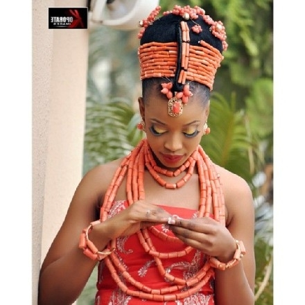 11 Stunning Traditional Nigerian Wedding Hairstyles – Bglh Marketplace For Traditional Wedding Hairstyles (View 1 of 15)