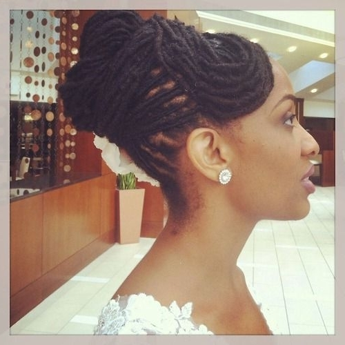 110 Best Dreadlock Wedding Hairstyles Images On Pinterest | Hairdos Within Wedding Hairstyles With Dreads (View 3 of 15)