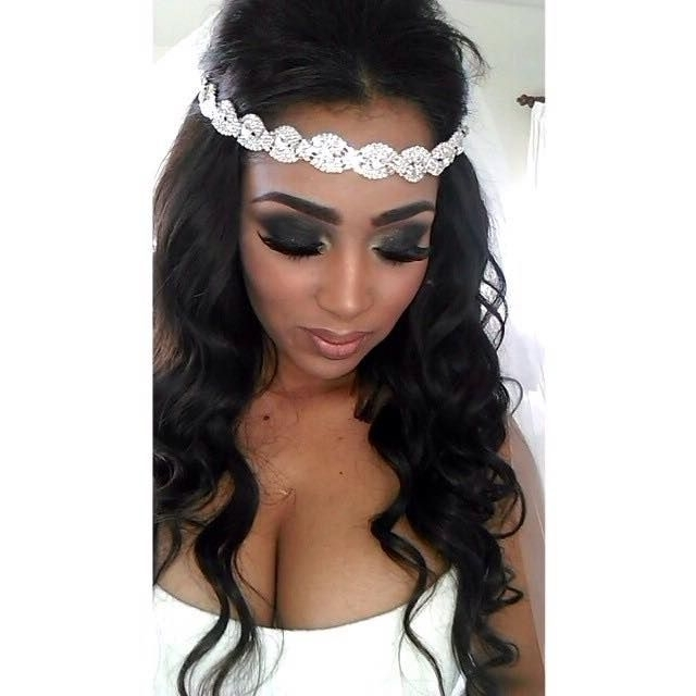 116 Best Wedding Hairstyles Images On Pinterest | Hair Dos, Wedding With Wedding Hairstyles For Black Girl (View 1 of 15)