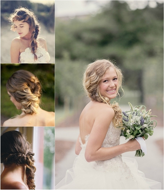 Explore Gallery Of Wedding Hairstyles With Hair Extensions Showing