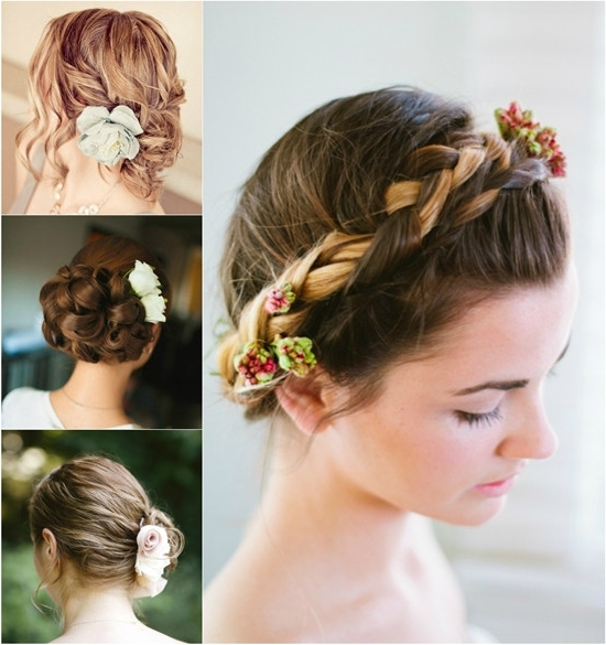 12 Best Wedding Hairstyles With Clip In Human Hair Extension – Vpfashion With Regard To Wedding Hairstyles For Short Brown Hair (View 3 of 15)
