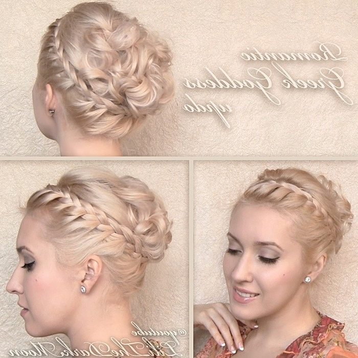 12 Hottest Wedding Hairstyles Tutorials For Brides And Bridesmaids Inside Wedding Hairstyles Updo Tutorial (View 7 of 15)