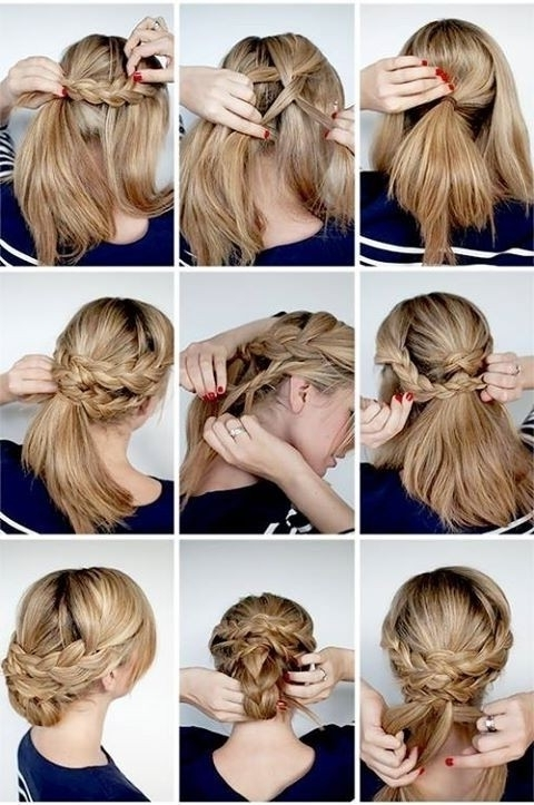 12 Hottest Wedding Hairstyles Tutorials For Brides And Bridesmaids With Wedding Hairstyles With Braids For Bridesmaids (View 2 of 15)