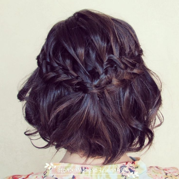 121 Best Wedding   Short Hair Bridal Styles   Styling Images On Intended For Bohemian Wedding Hairstyles For Short Hair (View 13 of 15)