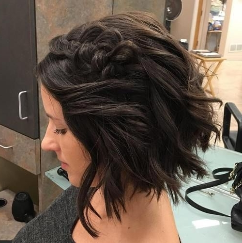 1338 Best Short Hair Images On Pinterest | Short Hair, Hair Cut And Pertaining To Wedding Hairstyles For Short Dark Hair (View 2 of 15)