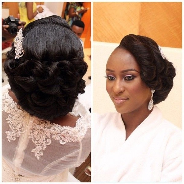 134 Best Nigerian Wedding Hairstyles Images On Pinterest | Bridal Within Wedding Hairstyles For Nigerian Brides (View 10 of 15)