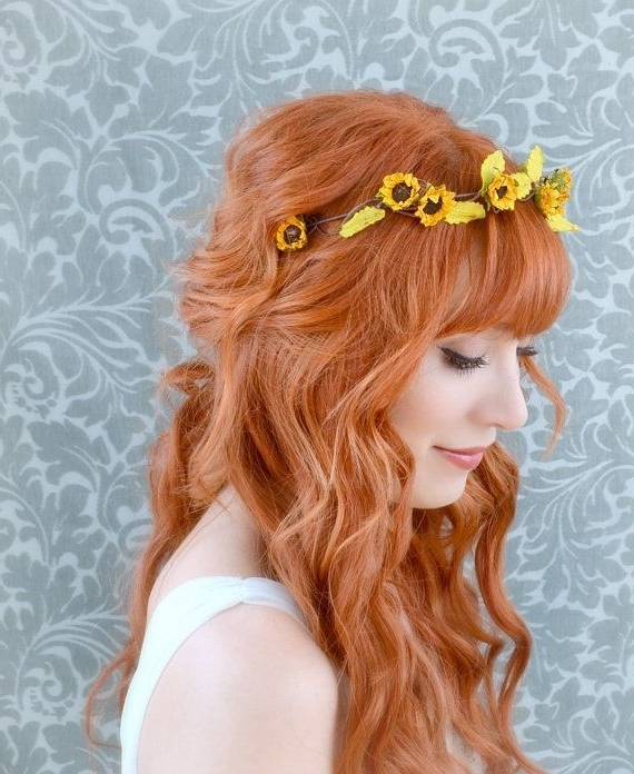 137 Best Hairstyles Images On Pinterest | Gorgeous Hair, Hair Dos In Wedding Hairstyles With Sunflowers (View 8 of 15)