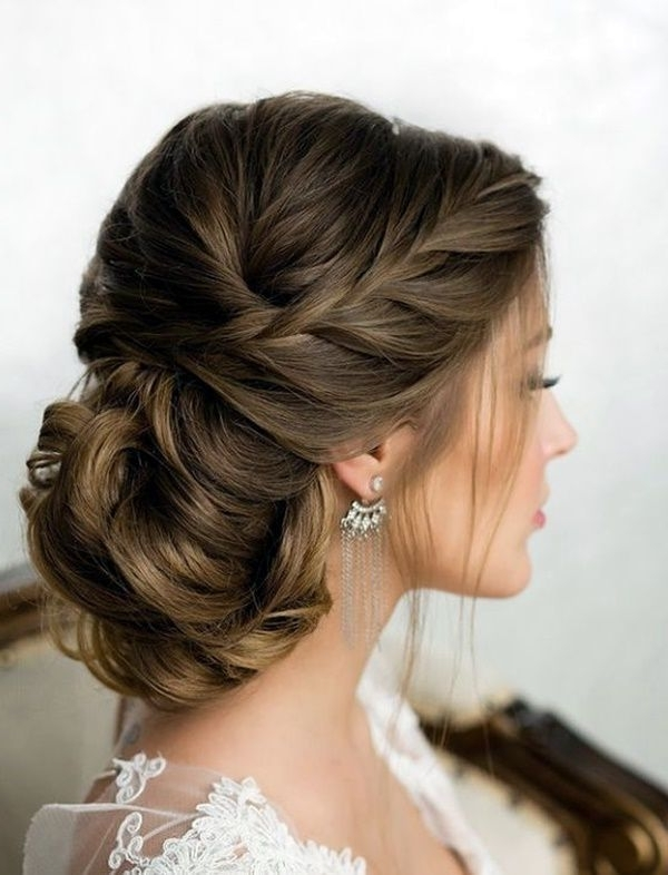 13839689 40 Ravishing Wedding Hairstyles For Brides T3558B31E Within Brunette Wedding Hairstyles (View 1 of 15)