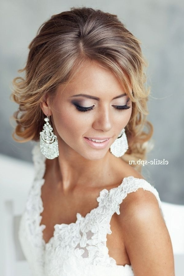 143 Best Wedding Makeup Images On Pinterest Bridal Hairstyles Inside Wedding Hairstyles And Makeup (View 3 of 15)