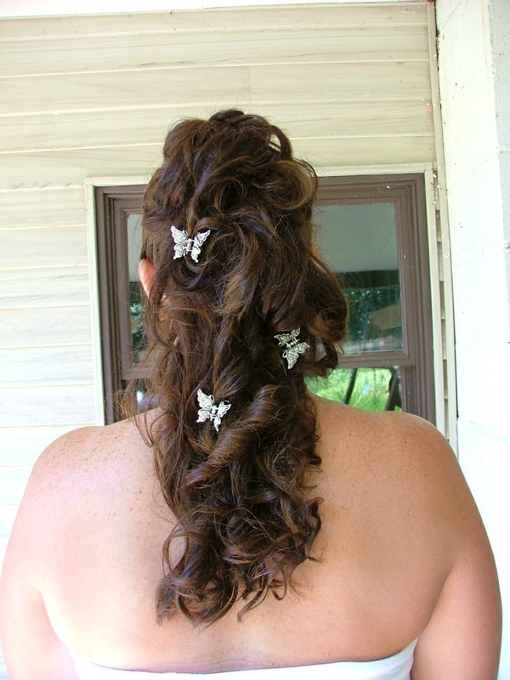 146 Best Country Wedding Hairstyles Images On Pinterest | Country Pertaining To Wedding Hairstyles That You Can Do At Home (View 7 of 15)