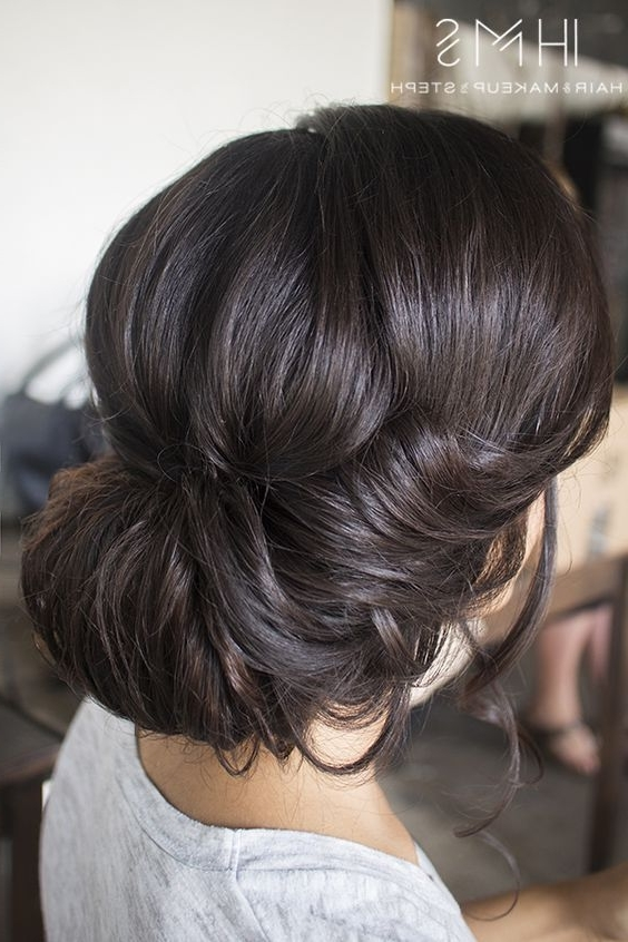 146 Best Hair – Special Occassion Images On Pinterest | Hair Colors Intended For Wedding Hairstyles For Short Brown Hair (View 9 of 15)