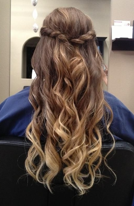147 Best Hairstyles Images On Pinterest | Hair Ideas, Cute Throughout Plaits And Curls Wedding Hairstyles (View 14 of 15)