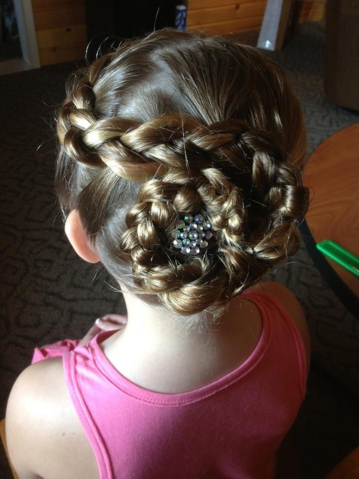 15 Best Junior Bridesmaid Hairstyles Images On Pinterest | Bridal In Wedding Hairstyles For Young Bridesmaids (View 1 of 15)