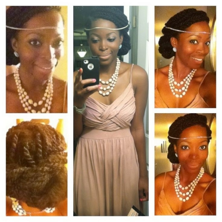 15 Best Kinky Twist Styles Images On Pinterest | Kinky Twists Within Wedding Hairstyles With Kinky Twist (View 6 of 15)