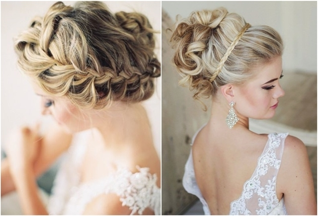 15 Braided Wedding Hairstyles That Will Inspire (With Tutorial Inside Braided Wedding Hairstyles (View 2 of 15)