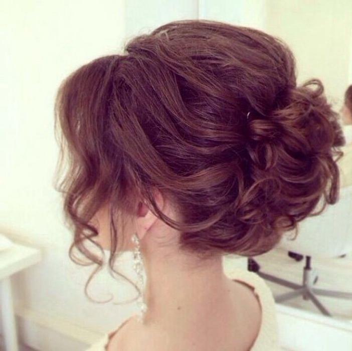 15 Cute Easy Updos For Medium Hair 2016 – 2017 | On Haircuts Regarding Prom Wedding Hairstyles For Long Medium Hair (View 6 of 15)