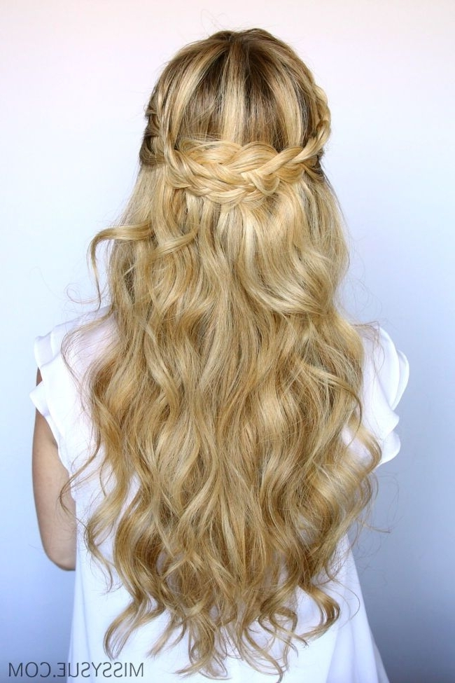 15 Easy Prom Hairstyles For Long Hair You Can Diy At Home | Prom With Regard To Wedding Hairstyles That You Can Do At Home (View 10 of 15)