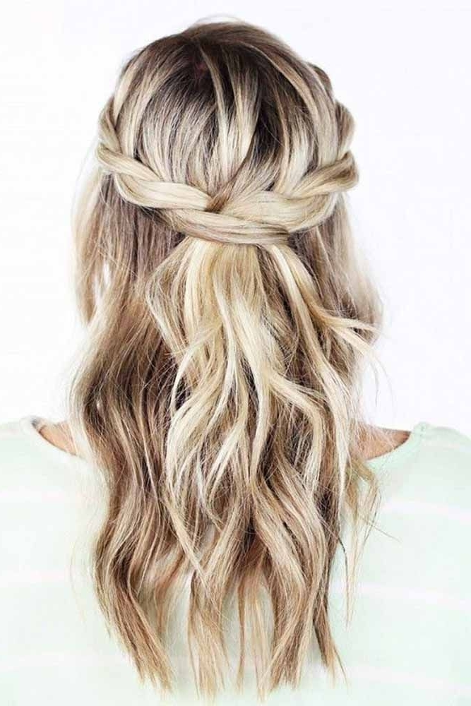 15 Easy To Do Everyday Hairstyle Ideas For Short, Medium & Long Inside Maid Of Honor Wedding Hairstyles (View 2 of 15)