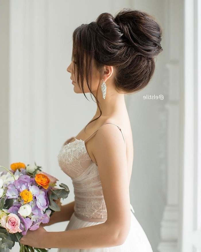 15 Elegant Updo Wedding Hairstyles To Inspire Your Big Day Look Within Elegant Updo Wedding Hairstyles (View 6 of 15)