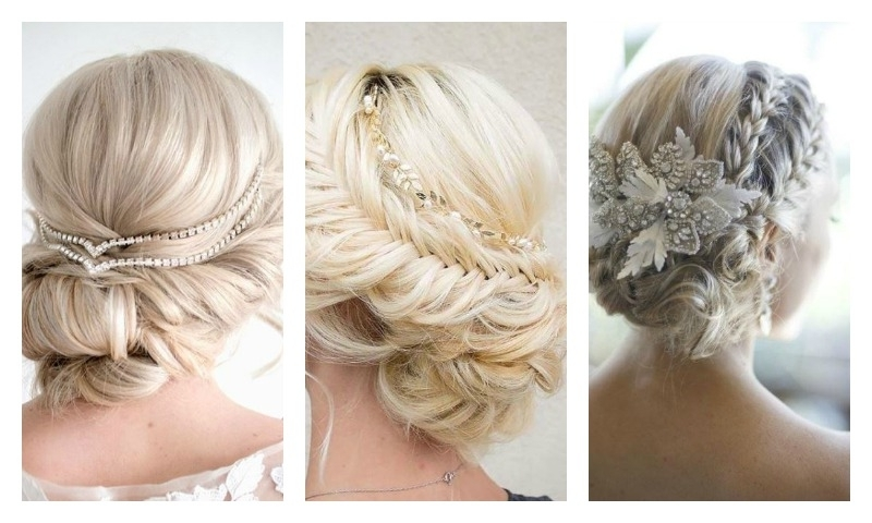 15 Indian Bridal Hairstyles For Short To Medium Length Hair With Wedding Hairstyles For Medium Length Hair With Flowers (View 13 of 15)