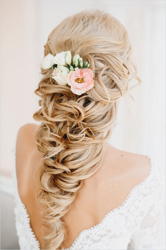 15 Latest Half Up Half Down Wedding Hairstyles For Trendy Brides For Wedding Hairstyles For Medium Length With Blonde Hair (View 7 of 15)