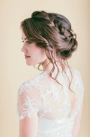 15 Wedding Braid Hairstyles Pertaining To Braided Wedding Hairstyles (View 3 of 15)